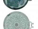 Coppa fenicia in bronzo dalla tomba S di Macchiabate, Francavilla Marittima, CS, 850 - 800 a.C. (Sibari, Museo Archeologico Nazionale della Sibaritide)