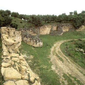 Mura di cinta di Castiglione di Paludi.