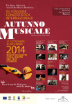 AUTUNNO MUSICALE 2014