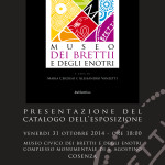 Presentazione del Catalogo dell'Esposizione del Museo dei Brettii e degli Enotri