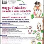 Viaggio fantastico nei musei e nelle città d'arte venerdì 7 novembre