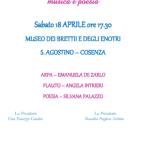 Concerto di Beneficenza - Musica e Poesia