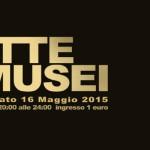 La Notte dei Musei sabato 16 maggio. Anche la città di Cosenza aderisce