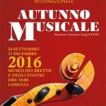 Stagione Concertistica Internazionale AUTUNNO MUSICALE