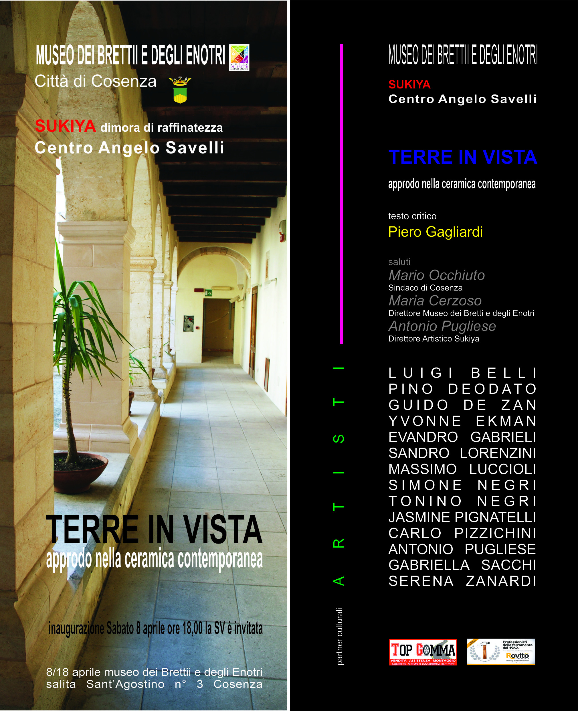 Mostra TERRE IN VISTA
