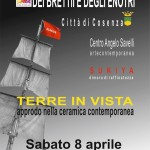 """Ceramica contemporanea al Museo dei Brettii e degli Enotri nella mostra """"Terre in Vista"""" che si inaugura sabato 8 aprile"""
