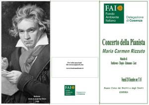 Concerto Fai-Maria Carmen Rizzuto fronte