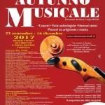 XVIII Stagione Concertistica Internazionale AUTUNNO MUSICALE