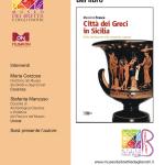 """RIMANDATA Presentazione del libro """"Città dei Greci in Sicilia"""" di Massimo Frasca"""
