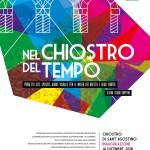 """""""Nel Chiostro del Tempo"""" è l'opera immersiva firmata da Teatro Studio Krypton per inaugurare, il 14 dicembre, il restaurato Chiostro di S. Agostino"""