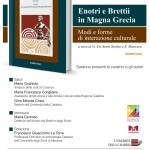 L'interazione culturale tra Enotri e Brettii in Magna Grecia nel volume che completa un progetto UniCal sul patrimonio storico-archeologico regionale. La presentazione al Museo dei Brettii e degli Enotri