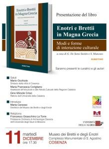 Locandina libro Enotri e Brettii in Magna Grecia