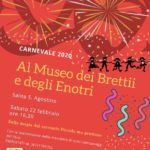Carnevale 2020 al Museo