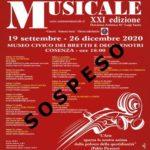 XXI Stagione Concertistica Internazionale Autunno Musicale
